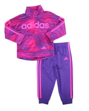 Girls - Speed Heather Tricot Set (2T-4T)