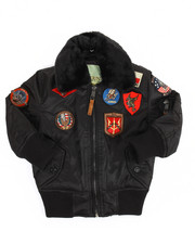 Top Gun - B-15 Bomber Jacket (2T-4T)-2170528