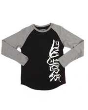 T-Shirts - Long Sleeve Raglan Tee (8-20)