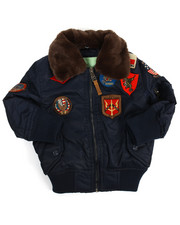 Outerwear - B-15 Bomber Jacket (2T-4T)