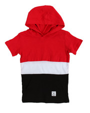 T-Shirts - Hooded Tee (4-7)