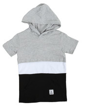 T-Shirts - S/S Hooded Tee (4-7)