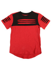 T-Shirts - Nappy Yarn Elongated Tee (8-20)
