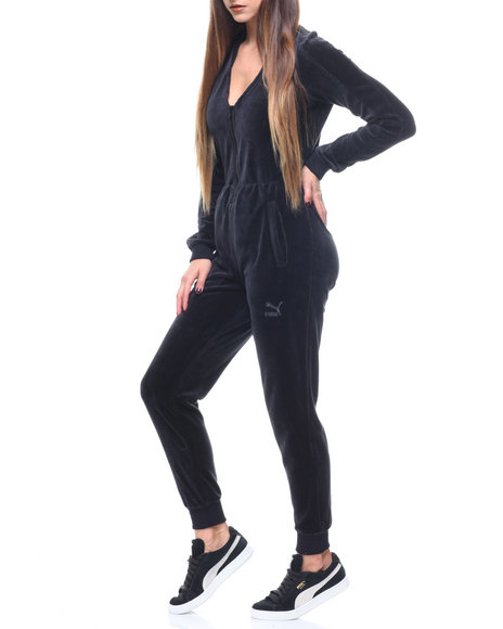 804969c997f Buy V-neck Velour T7 Jumpsuit Women s Jumpsuits from Puma. Find Puma ...