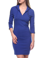 Dresses - T7 Hooded Dress-2168537