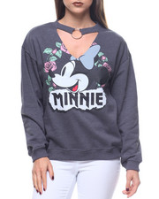 Sweaters - Minnie Original Choker Nk Sweatshirt
