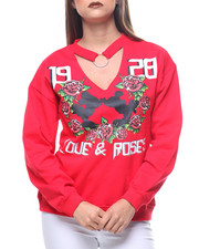 Sweaters - Mickey Very Side Lace Up Sweatshirt