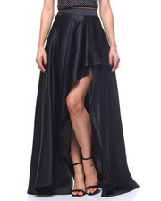 Womens New Years Eve Outfits - Long Hilo Wrap Skirt