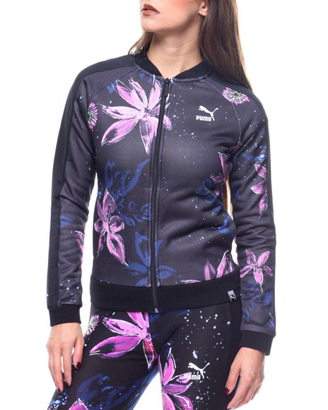 1536ba7880dc Buy AOP Archive T7 Track Jacket Women s Outerwear from Puma. Find ...