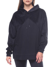 Women - Fabric Block Oversized Hoody