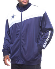 NBA, MLB, NFL Gear - Dallas Cowboys Tricot Track Jacket (B&T)