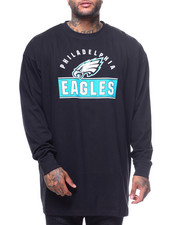 NBA, MLB, NFL Gear - L/S Eagle Crew Tee (B&T)