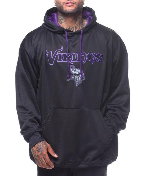 Champion - L/S Vikings Pullover Hoodie (B&T)