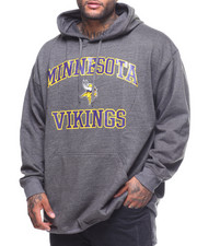 NBA, MLB, NFL Gear - L/S Vikings Pullover Hoodie (B&T)
