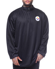 NBA, MLB, NFL Gear - L/S Steelers 1/4 Zip Pullover (b&T)