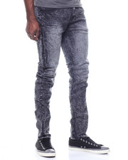 Buyers Picks - TWILL PANT W DISTRESSED LEG OPENING