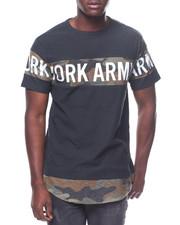 T-Shirts - SCALLOP CUT & SEW CAMO TEE