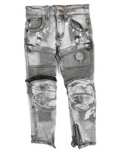 Bottoms - 3D Knee Biker Jean (4-7)