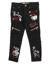 Jeans - Doodle Print Jean (4-7)