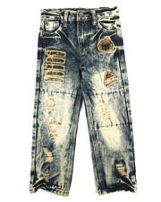 Bottoms - Rip & Repair Denim Jean (4-7)q
