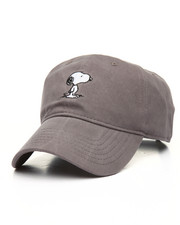 Men - Snoopy Embroidered Dad Cap