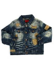 Outerwear - Patch Denim Jacket (4-7)-2171792