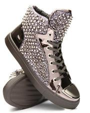 Footwear - Studded High Top Sneakers