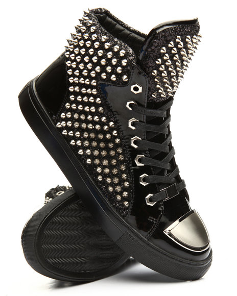 MORETTI - Studded High Top Sneakers