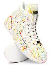 Footwear - Paint Splatter High Top Sneakers