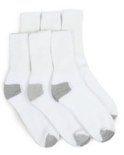 DRJ SOCK SHOP - 6 Pack Crew Socks-2169321