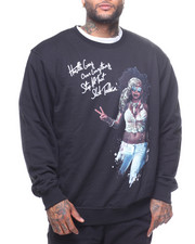 Sweatshirts & Sweaters - L/S Flower Child Crew Sweatshirt (B&T)