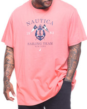 Nautica - S/S Sailing Graphic Tee (B&T)