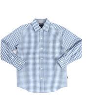 Boys - Rios Long Sleeve Woven Shirt (8-20)