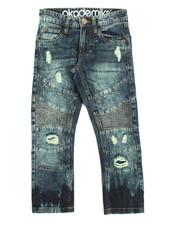 Akademiks - Moto Rip & Repair Denim Jean (8-20)-2172852