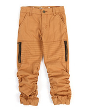 Bottoms - Shirred Twill Jogger (4-7)