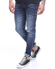 Jeans & Pants - AARON WASHED RAW STRETCH JEAN-2172699