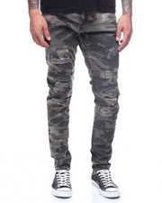 Buyers Picks - SEAN CAMO DISTRESSED JEAN
