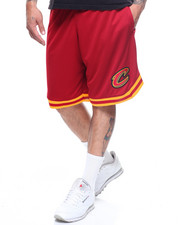 Shorts - CAVALIERS POLY MESH SHORT W STRIPE DETAIL