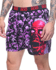 Buyers Picks - Walking Dead Hands Print Boxer