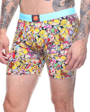 Buyers Picks - Nickelodeon Rewind Toss Print Boxer Brief