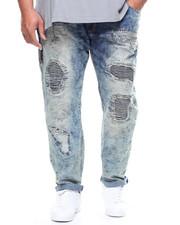 Jeans - Paint Splashed Ripped Denim Jean (B&T)