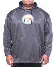 Champion - L/S Steelers Hoodie (B&T)