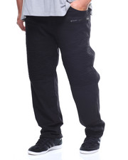 Jeans & Pants - Stretch Twill Zip Moto Pants (B&T)