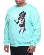 Pullover Sweatshirts - L/S Flower Child Crew Sweatshirt (B&T)