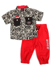 Enyce - 2 Piece Woven Jogger Set (Infant)