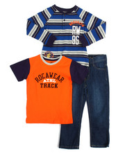 Sets - Rocawear Athl 3 Piece Set (4-7)