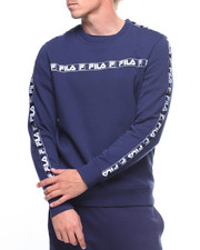 Pullover Sweatshirts - TAG FLEECE CREW