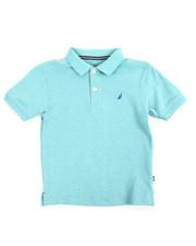 Boys - Anchor Stretch Single Dye Polo (4-7)