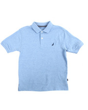 Tops - Anchor Stretch Single Dye Polo (8-20)