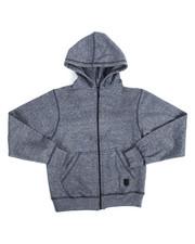 Phat Farm - Yarn Dyed Melange Fleece Hoodie (8-20)